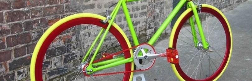 Покраска велосипеда в домашних условиях – инструкция