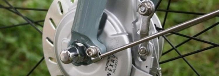 Роллерные тормоза для велосипеда: установка и регулировка