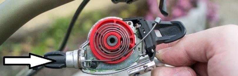 Как поменять тросик переключения скоростей на велосипеде