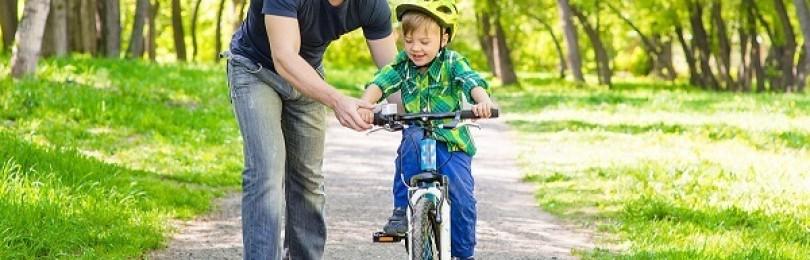 Как научить ребенка кататься на велосипеде: правила безопасности, советы