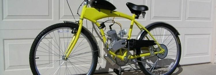 Велосипед с бензиновым двигателем – особенности и советы