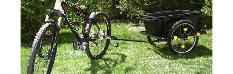 Прицеп для велосипеда – виды, как сделать