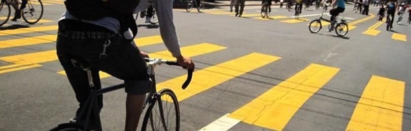 Как правильно ехать на велосипеде по проезжей части