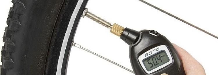 Манометр для велосипеда: устройство и характеристики