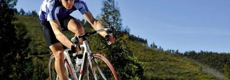Средняя скорость велосипедиста по городу и трассе