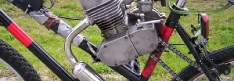 Бензиновый двигатель на велосипед – особенности, лучшие производители