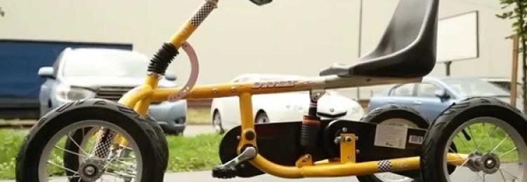 Взрослый четырехколесный велосипед – плюсы и минусы