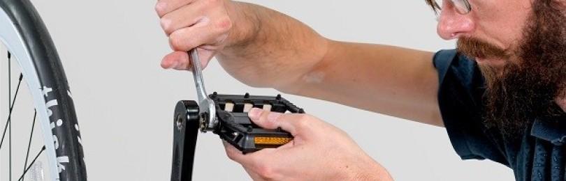Как открутить педали на велосипеде – инструкция