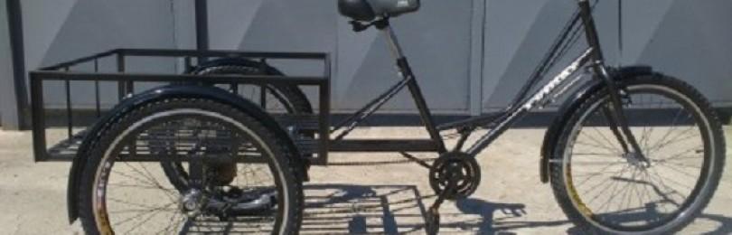 Грузовой велосипед – особенности и виды