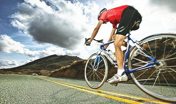 дистанция на велосипеде за сутки