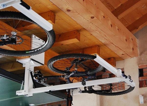 хранение велика в гараже частного дома