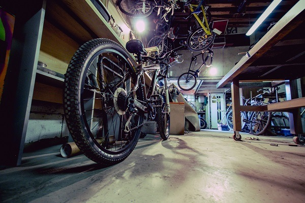 консервация велосипеда