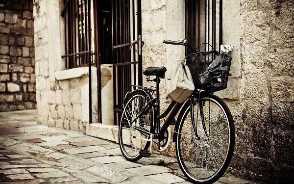 велосипед на улице