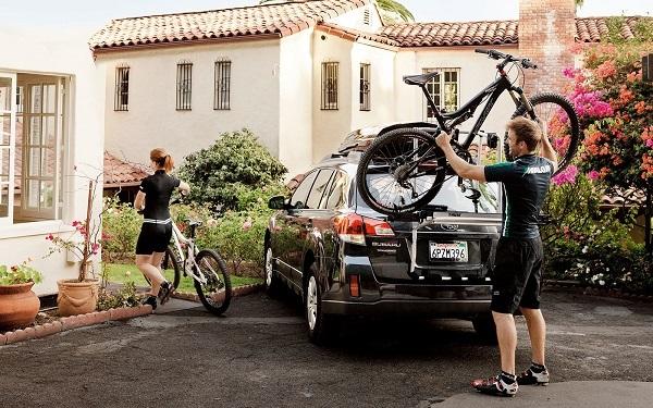Когда необходимо перевозить велосипед в машине
