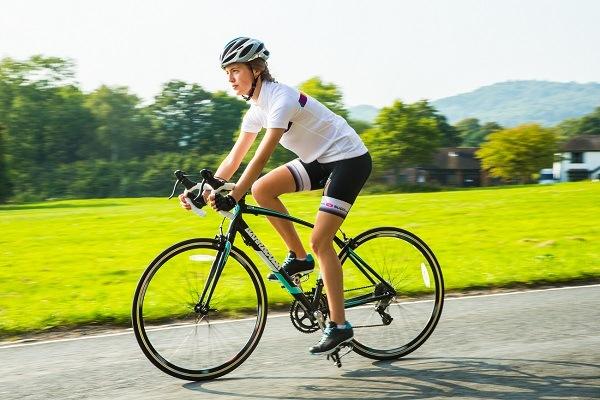Приземление на велосипеде