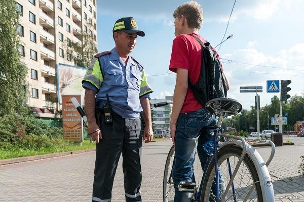 штраф велосипедисту