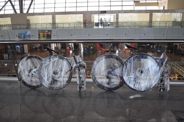упаковка велосипеда для перевозки в поезде