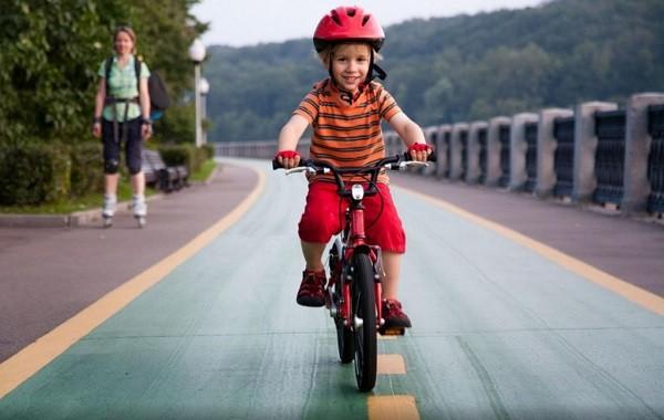 Польза велосипеда для детей