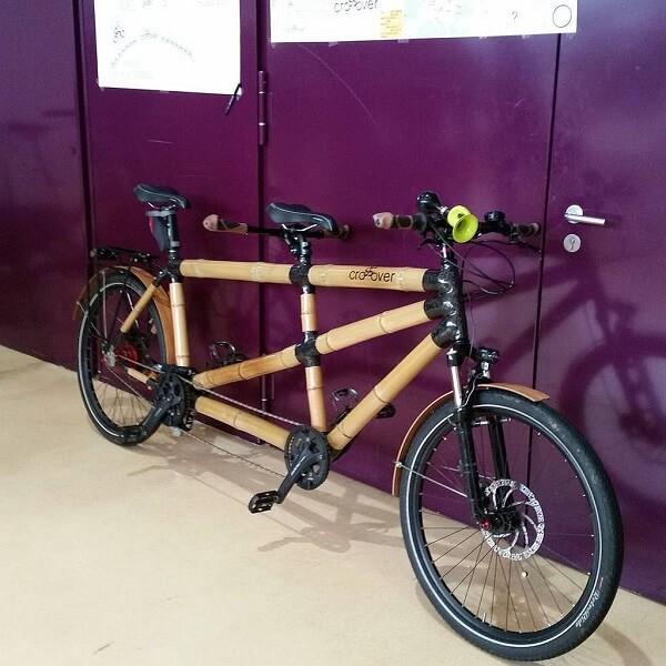 колеса велосипеда-тандема