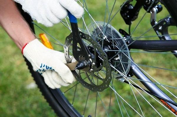 люфт колеса велосипеда