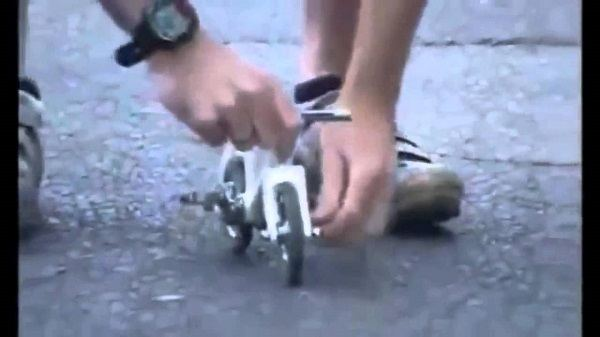 самый мленький велосипед на котором ездят