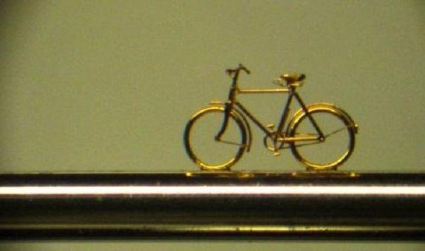 самый маленький велосипед в мире