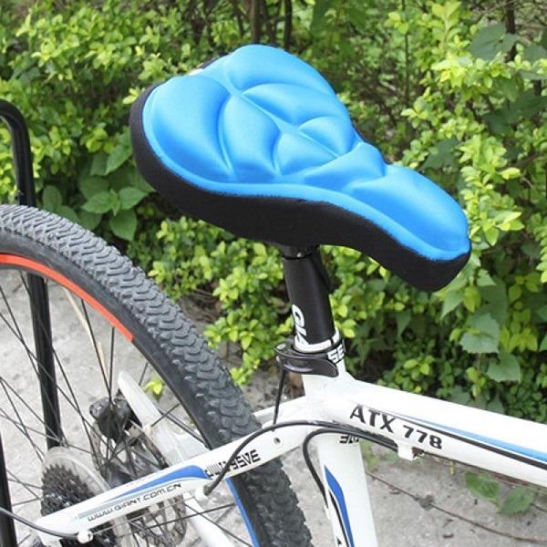 велосипедное седло из гелевых подушек