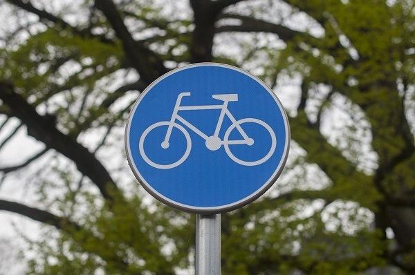 как выглядит знак велосипедная дорожка
