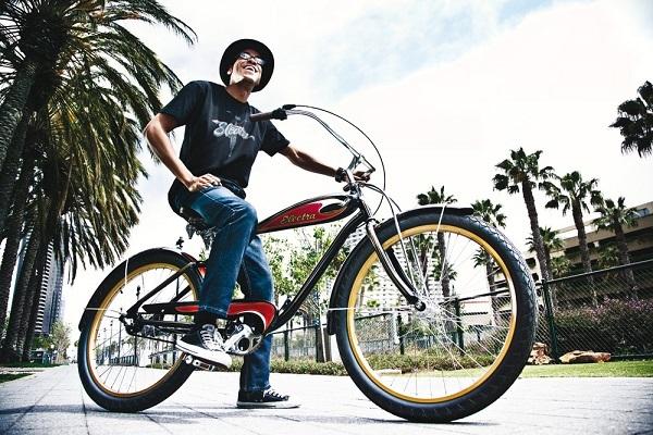 колеса велосипеда круизер