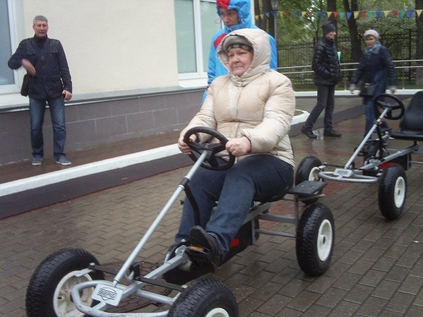 велобагги для пожилых людей