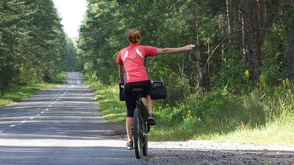 маневр велосипедиста