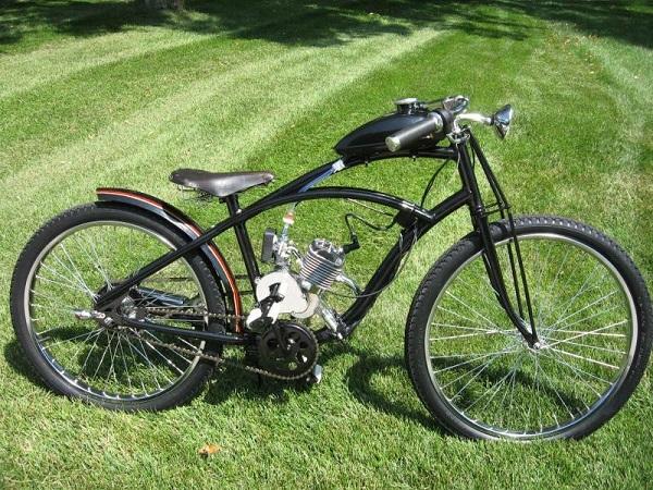 особенности велосипеда с бензиновым мотором
