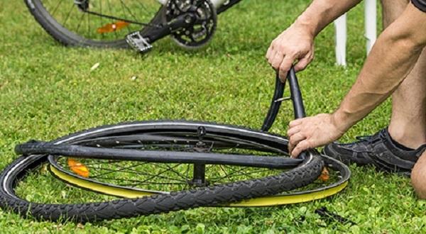 пользование велосипедным ремкомплектом