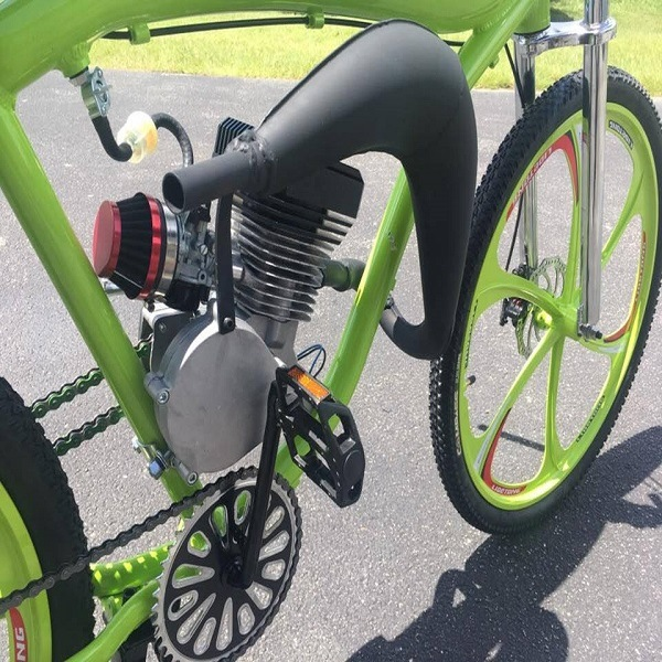 преимущества бензинового двигателя для велосипеда