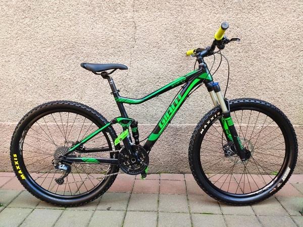 велосипед-двухподвес Giant
