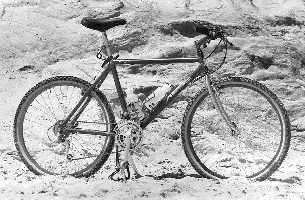 первый горный велосипед