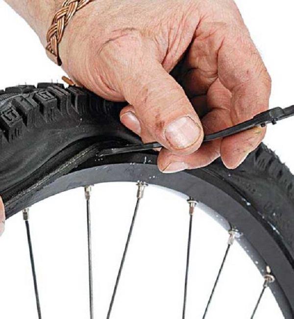 установка бескамерных шин