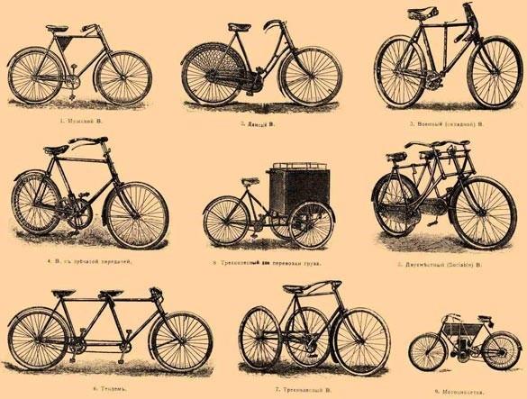 виды деревянных велосипедов