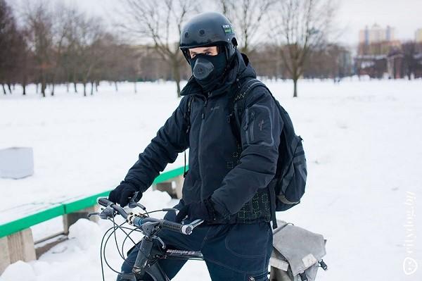 зимняя экипировка велосипедиста