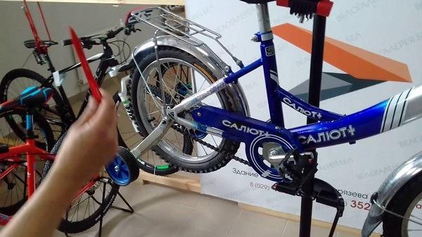 обслуживание велосипеда Салют