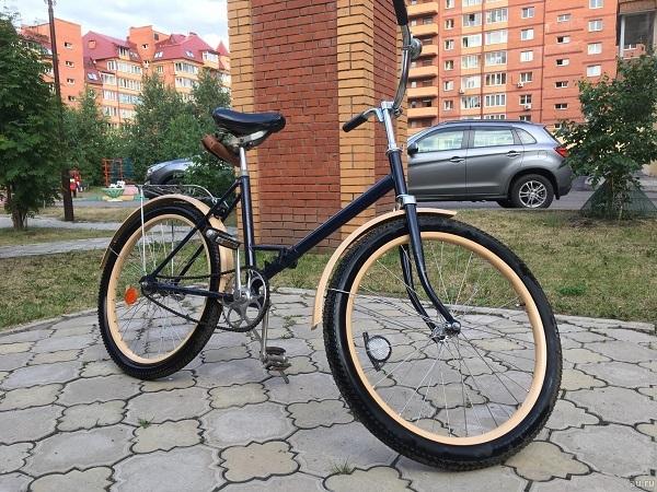 модернизация велосипеда Салют