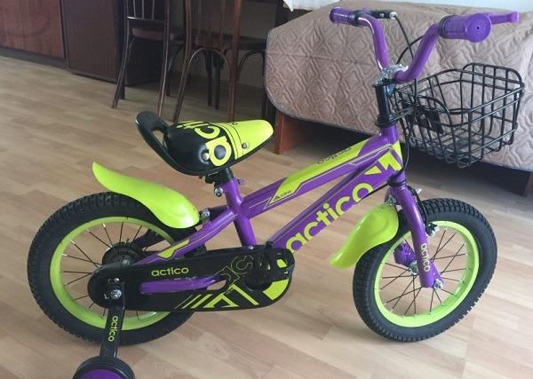 детский велосипед Актико