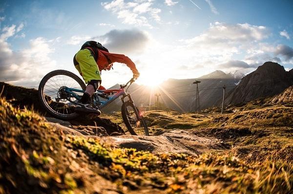 езда на Mountain Bike