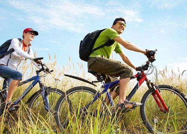 расход калорий при езде на велосипеде