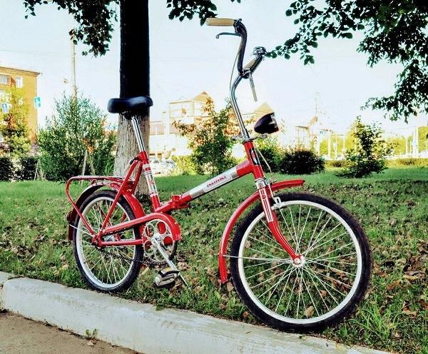 обновленный велосипед Кама