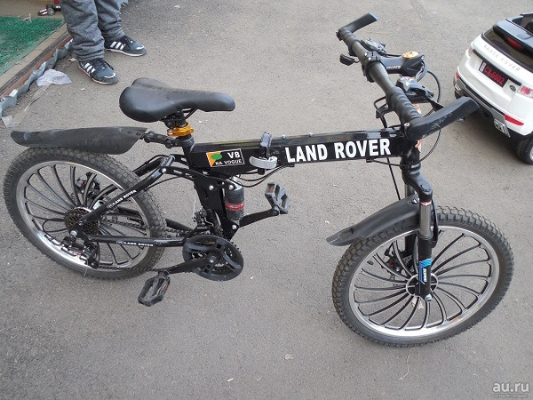 детский велосипед Land Rover