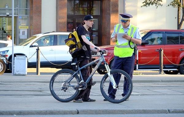 запреты велосипедиста