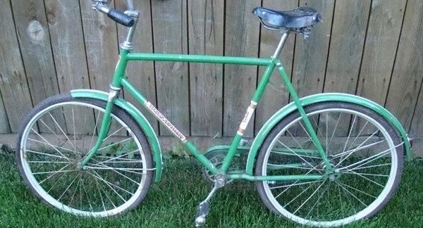 новая модель велосипеда Школьник 1996 года