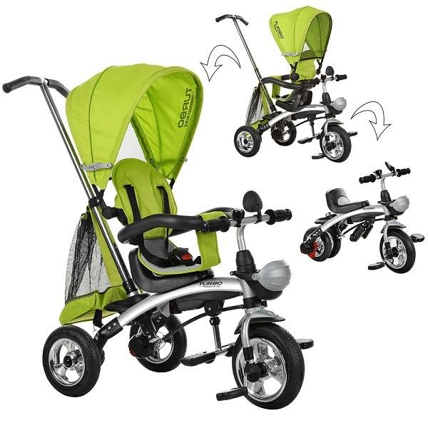 трехколесный велосипед-трансформер для ребенка