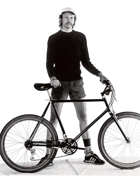 велосипедист Гарри Фишер